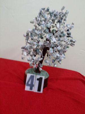 AGATE STONE TREE, GREEN SUVA BHAJI STONE COLOR for Sale in Jersey City, NJ