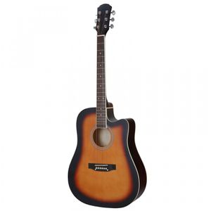 41 Full Size Wood Guitar Set Oxford Cloth Bag Electronic Tuner Spare Strings for Sale in Wildomar, CA