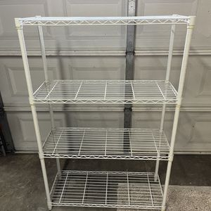 Sturdy Wire Rack With 4 Shelves 55 X 36 for Sale in Chino, CA