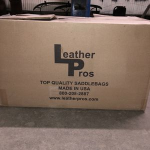 Leather pros, bags , fxr ,fxrp , Harley Davidson for Sale in Rolling Hills, CA