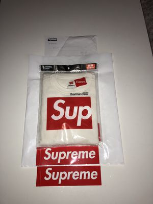 Supreme Off-White Long Sleeve for Sale in New York, NY