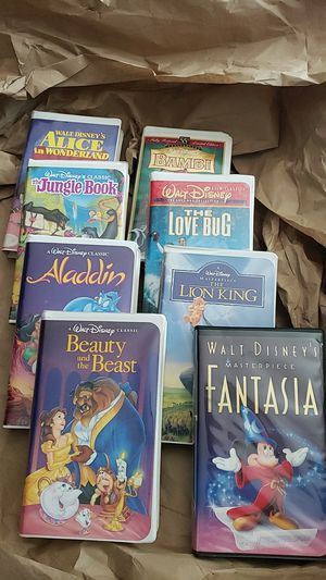 Disney Classics VHS lot of 8 for Sale in Denver, CO