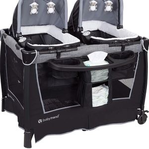 Twin Pack N Play with Bassinets And Changing Table for Sale in Berlin, NJ