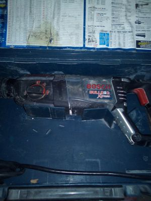 Bosch 8 Amp 1-1/8 in. Corded SDS-Plus Variable Speed Concrete/Masonry Rotary Hammer Drill with Carrying Case ) for Sale in E RNCHO DMNGZ, CA