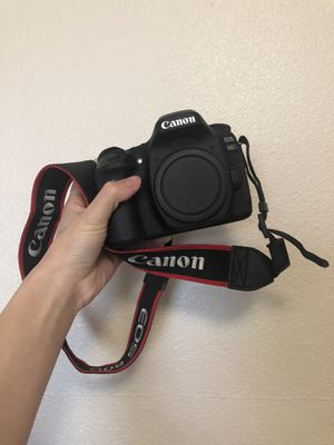 Canon EOS 80D and 2 lens for Sale in Seattle, WA