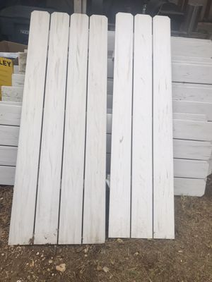 6 foot vinyl fencing for Sale in Fort Worth, TX
