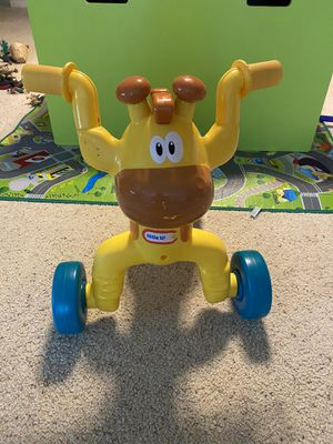 Little Tikes Go and Grow Lil' Rollin' Giraffe Ride for Sale in Houston, TX