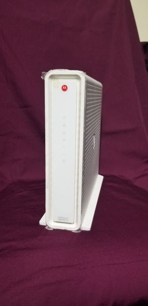 Motorola Router And Modem Combo (SBG6782) for Sale in Peoria, IL