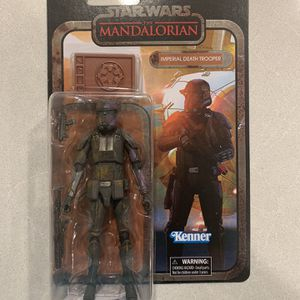 Imperial Death Trooper The Mandalorian Black Series Credit Collection *MINT* Amazon Exclusive Star Wars Figure Beskar Hasbro retro Disney for Sale in Lewisville, TX