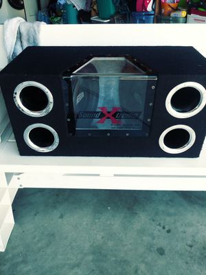 Powerbank woofers. Box for Sale in Hollister, CA