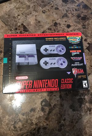 Super Nintendo classic edition for Sale in Chicago, IL