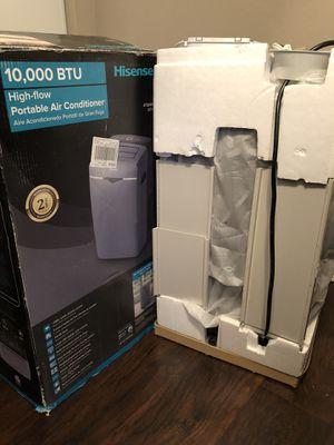 10,000 BTU Hisense portable air conditioner for Sale in Covina, CA