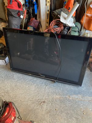 Panasonic 55 inch Tv and Tb stand for Sale in Feasterville-Trevose, PA