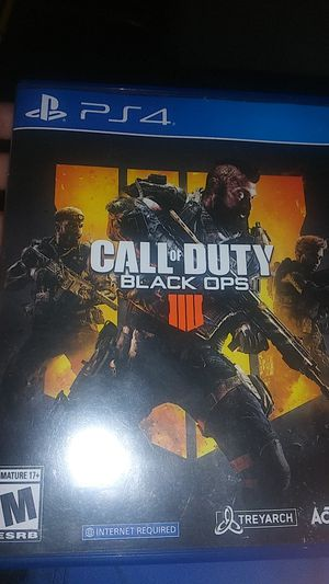 Call of duty black ops 4 for Sale in Mesa, AZ