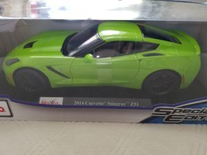 Maisto 1/18 diecast Corvette Z51, rare color brand new, toy car/collectible for Sale in La Costa, CA