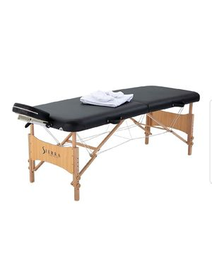 Portable massage table Sierra Comfort. for Sale in San Jose, CA