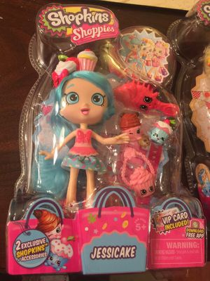 Brand new in box Shopkins Shoppies (Jessicake) for Sale in Fremont, CA
