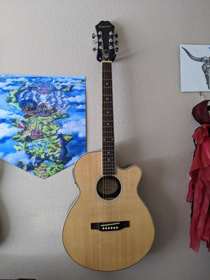 Epiphone Acoustic Electric Pr-4e NA for Sale in San Antonio, TX