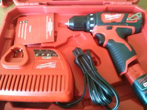 MILWAUKEE M12 CORDLESS SPEED KIT BATTERY AND CHARGER BRAND NEW for Sale in San Bernardino, CA
