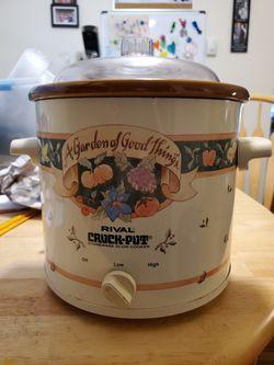 Rival crock pot for Sale in Philadelphia,  PA