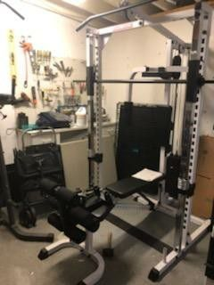Smith power rack gym. All in one gym for Sale in Tampa, FL