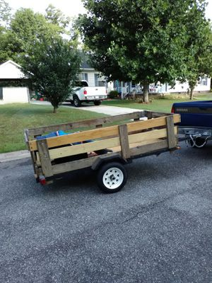 Rebuilt 4 by 8 trailer for Sale in Albany, GA