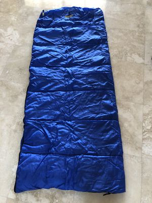 Adult sleeping bag Eureka! Cayouga 30° used 1x time Like new! for Sale in Hollywood, FL
