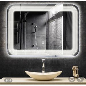 New LED Bathroom Vanity Wall-Mount Mirror with Touch Button for Sale in Hacienda Heights, CA