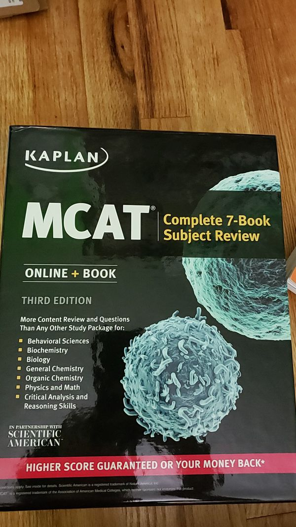 Kaplan MCAT 7 Book Review