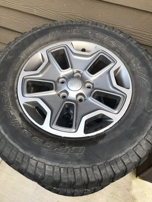 Jeep Wrangler Rubicon Wheels and Tires for Sale in Kent, WA