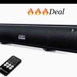 Go groove sound bar new please scroll Through our pictures for more description, perfect for hooking up to your TV or Alexa easy set up Bluetooth etc. for Sale in Redlands, CA