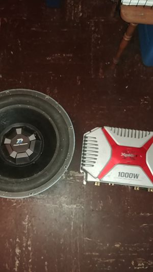 """15"""" Subwoofer. 1000 WATTS SONY XPLOd. 1000 WATTS 2/1 Channels for Sale in Silver Spring, MD"""