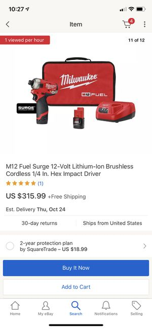 Milwaukee fuel m12 surge kit for Sale in Fort Lee, NJ