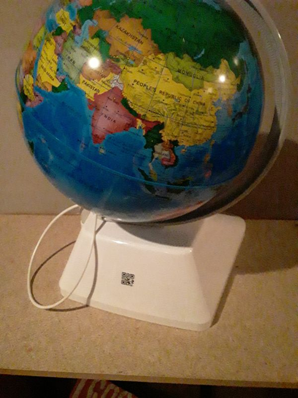 Organ scinctific talking globe