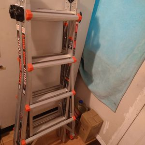 Little Giant Leveling Ladder/Roll Away Wheels for Sale in Auburn, WA