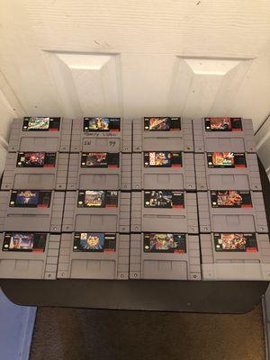 Super Nintendo Games for Sale in Los Angeles, CA