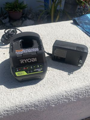 Ryobi 18v charger for Sale in Pismo Beach, CA