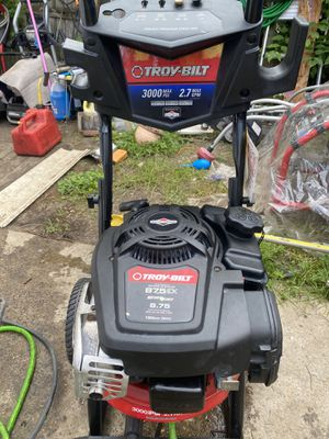 Troy-bilt 3000 psi pressure washer works great! for Sale in Philadelphia, PA