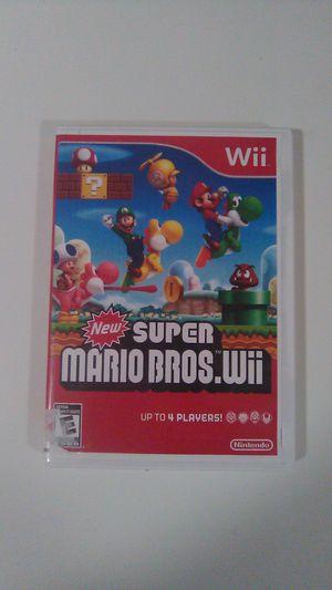 Super Mario Bros Nintendo Wii for Sale in San Tan Valley, AZ