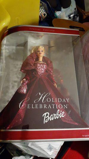 BEAUTIFUL Holiday Celebration Barbie nrfb for Sale in Pompano Beach, FL