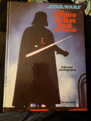 Star Wars: The Empire Strikes Back Storybook 1980 for Sale in Williamsville, NY