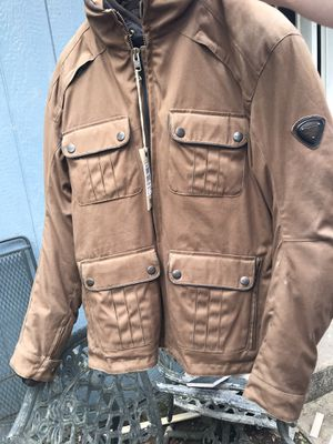 New Motorcycle Triumph jacket.. casual look for Sale in Houston, TX