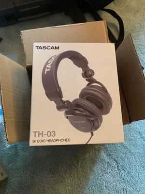 Tascam TH-03 Studio Headphones for Sale in Saint Paul, MN
