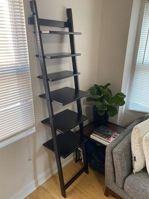 Black Ladder Bookshelf for Sale in Washington, DC