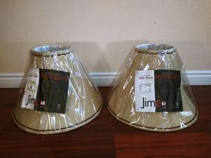 2 Lamp Table Shades beige color brand Jimco for Sale in Spanish Fork, UT