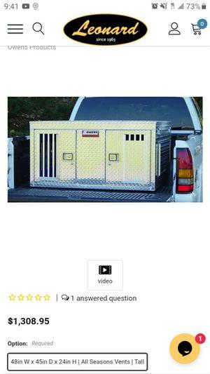 Owen's Dog Box for Full Size Trucks for Sale in North Smithfield, RI