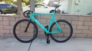 Aventon mataro low fix gear fixie rode only 5 miles since purchasing bianchi track bike great condition leader for Sale in Chino Hills, CA