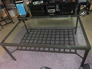 Glass living room Table for Sale in Richmond, CA