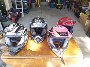 MOTOR CROSS HELMETS for Sale in Lake Elsinore, CA