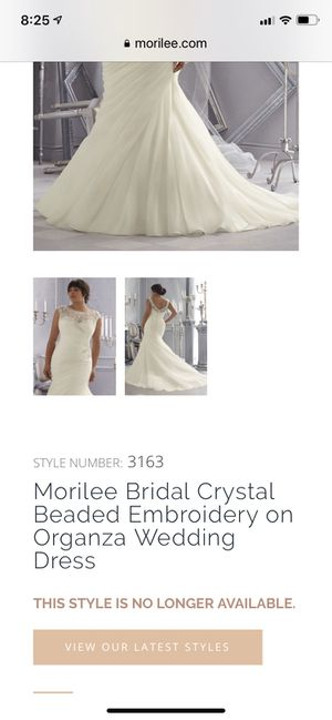 Morilee Wedding Dress - white for Sale in Lakeville, MN